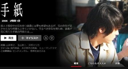 Netflix - 手紙
